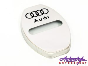 Chrome Door Lock Protective Covers (audi)-0