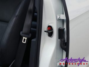 Chrome Door Lock Protective Covers (Toyota)-0