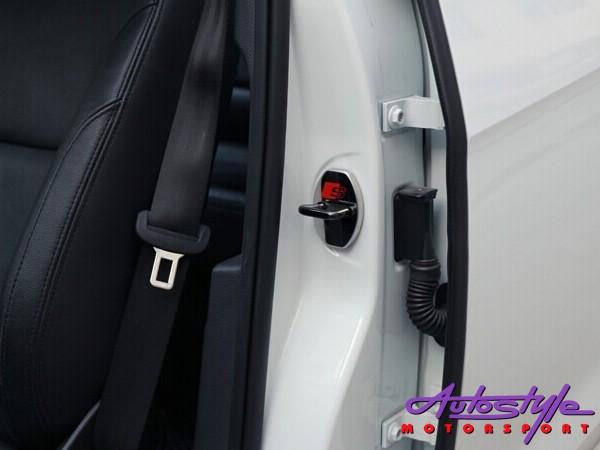 Chrome Door Lock Protective Covers (audi)-26050