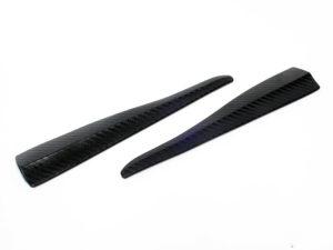 Universal Carbon Fibre Look Corner Splitter (28cm length)-0
