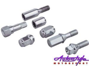 A-Line Wheel Locknuts - 12x.1.25-0