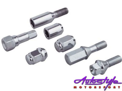 A-Line Wheel Locknuts - 12x.1.25