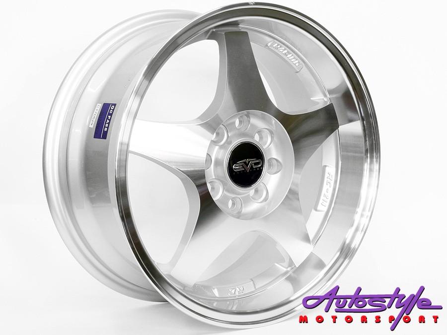 15″ Evo Monza 4/100 & 4/108 Alloy Wheels