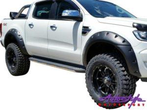 Toyota Hilux Revo Wheel Arches (textured finish)-0