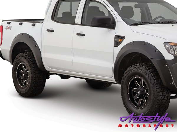 Toyota Hilux Revo Wheel Arches (smooth finish)