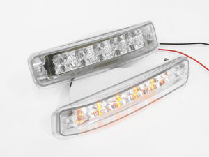 Toyota E8E9 LED Crystal Bumper Indicators-0