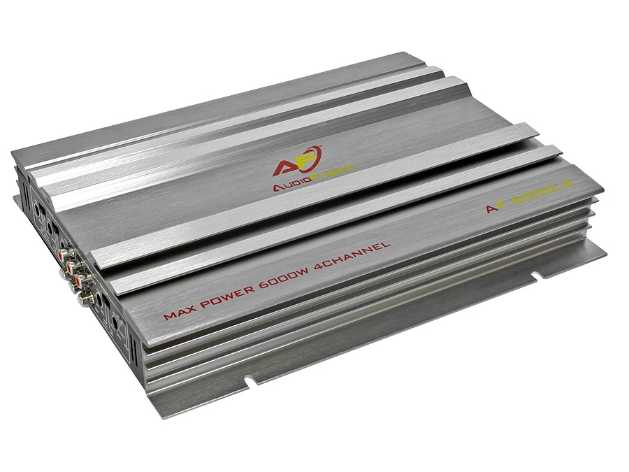 AudioFusion 6000w 4channel Amplifier