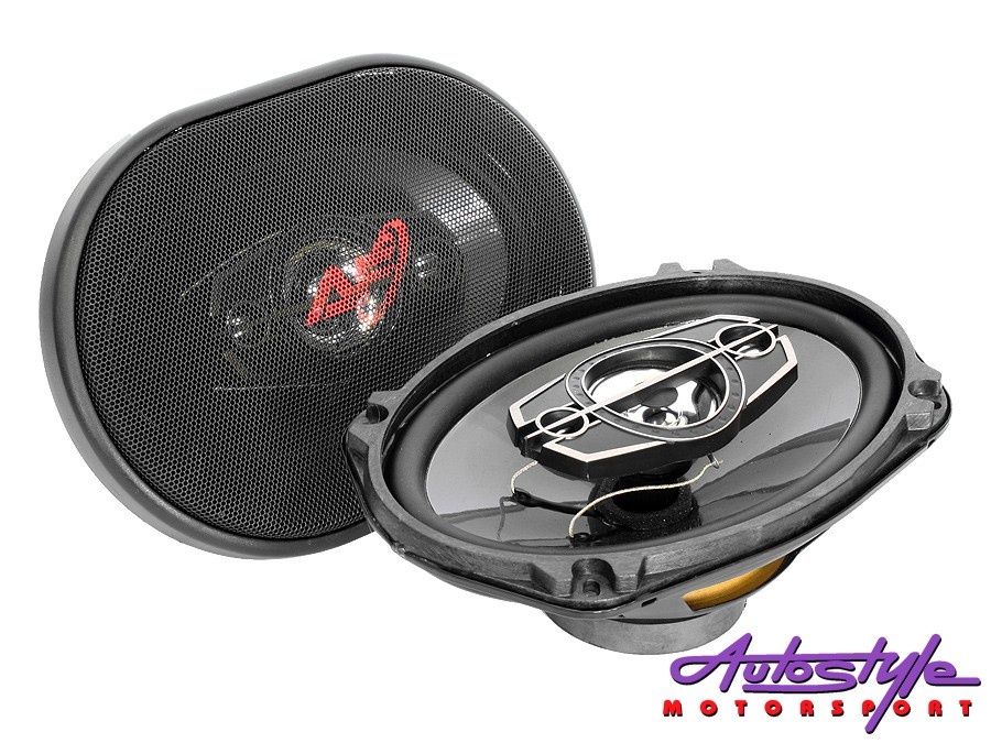 "AudioFusion 6x9"" 500w 3way Speakers-0"