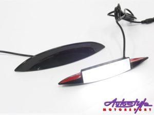 LED Car Fender Eye Brow Lighting (white)-0