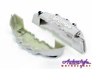 Brembo Dummy Brake Caliper Covers (Silver small)-0