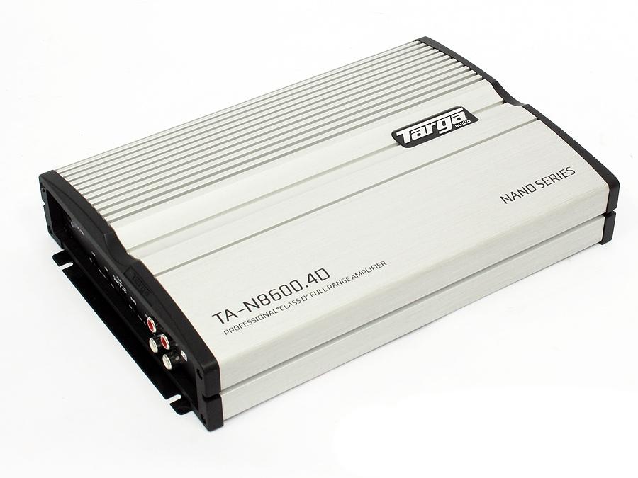 Targa Nano Series 9000w 4ch Amplifier