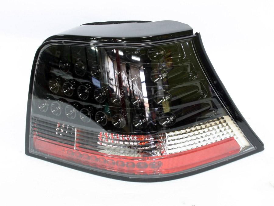 VW Golf Mk4 LED Smoke Crystal Tailights (pair)