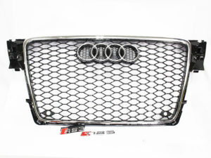 2008 Audi A4 (b8) RS4 Style Facelift Grille Kit-0