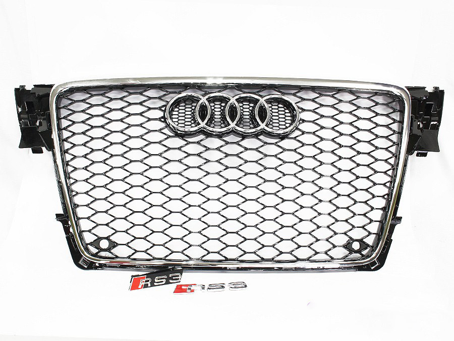 2008 Audi A4 (b8) RS4 Style Facelift Grille Kit