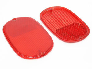VW Bus T1 62-72 Rear Lamp Lenses (pair)-0