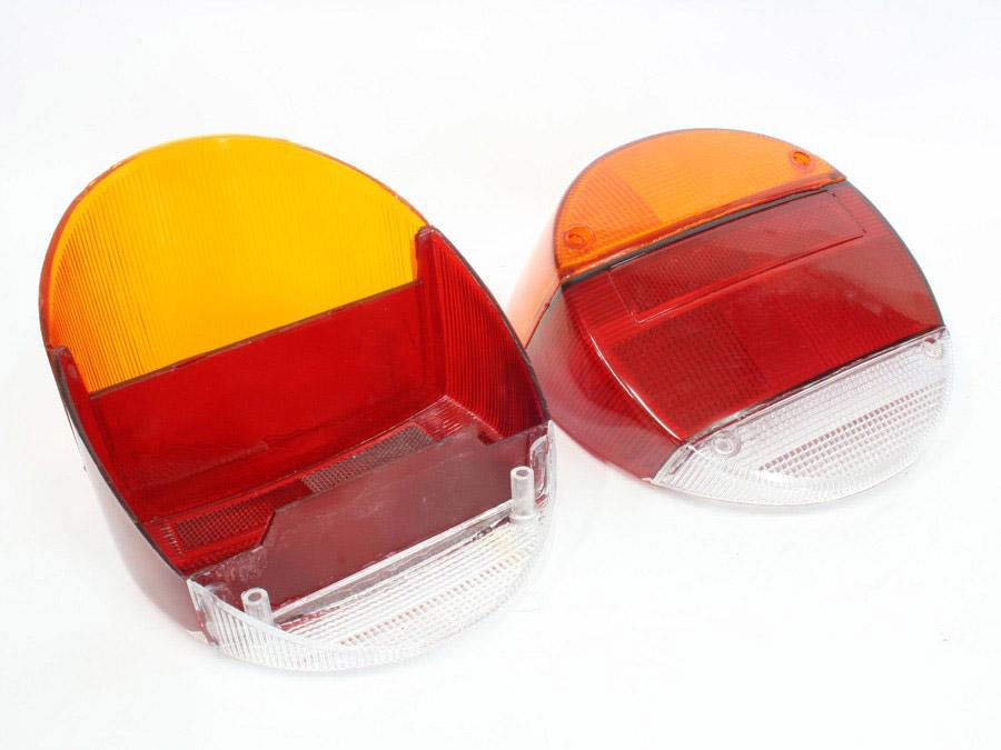VW Beetle Classic 73-79 Rear Lamp Lenses (pair)