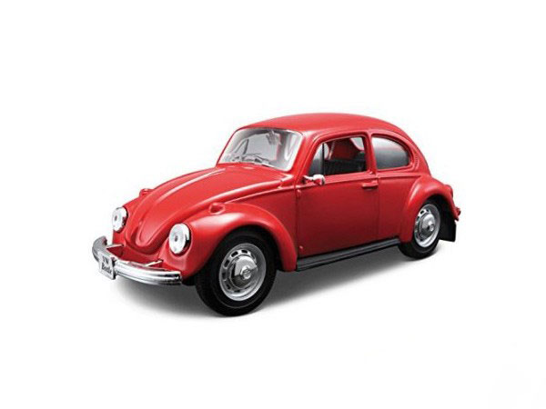 Maisto 1:24 VW Beetle Assembly Model Car-26255