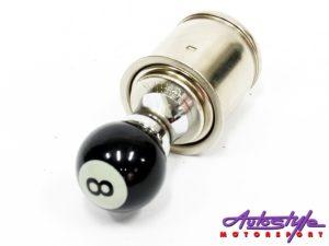 8-ball design 12 cigarette lighter plug-0
