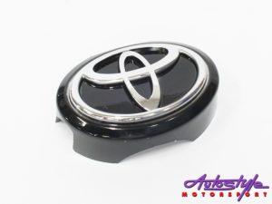 Toyota Logo Screw On Grille Badge (9cm)-0