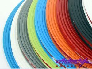 Wheel Rim Lip Protector Stripe Kit (white)-0