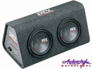 "MTX RTP8X2 Double 8"" Sub & Amplifier Enclosure Combo-0"