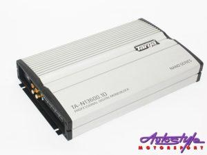 Targa Nano Series 13600w 1ch Monoblock Amplifier-0