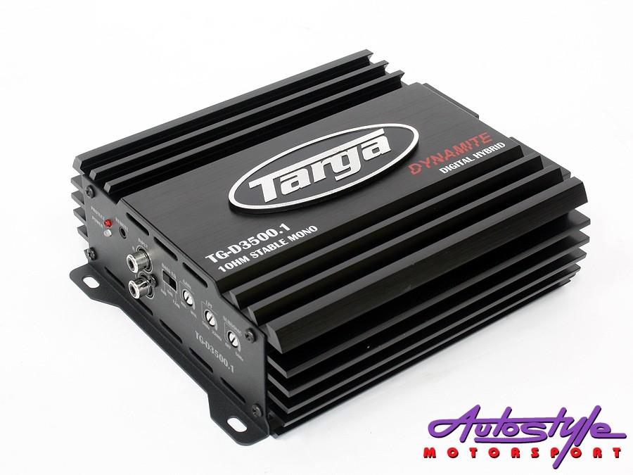 Targa Dynamite 3500 1ohm Amplifier-0