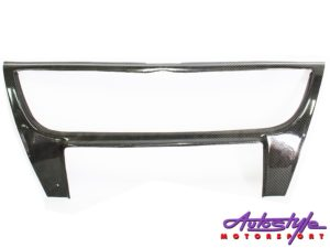 VW Polo Carbon Fibre Grille Surround-0