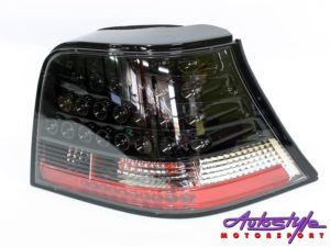 VW Golf Mk4 LED Smoke Crystal Tailights (pair)-0