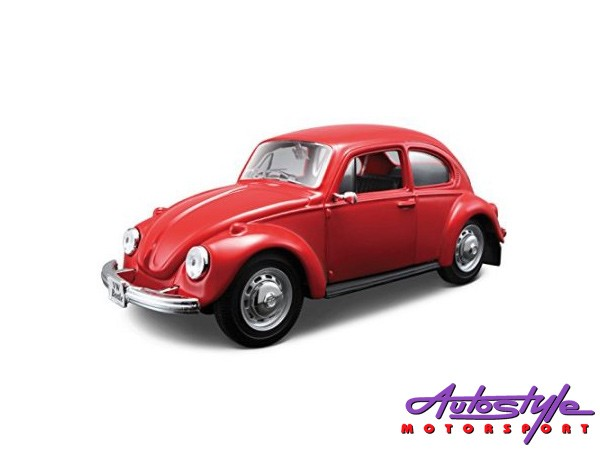 Maisto 1:24 VW Beetle Assembly Model Car-26255