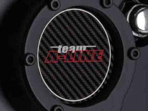 A-Line Carbon Fibre Look Center Cap 59mm (set of 4)-0