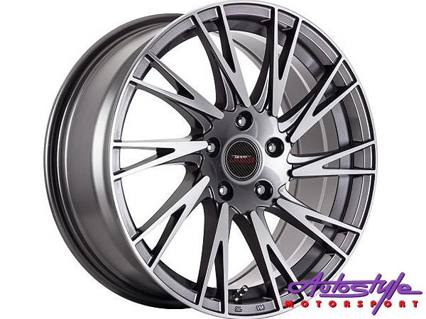 17″ A-Line Zendo 4/100 & 4/108 GMMF Alloy Wheels