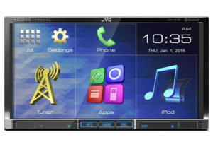 JVC KW-V51BT HDMI Double Din Receiver-0