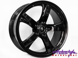 "18"" SM 548 5/120 Blk Alloy Wheels-0"
