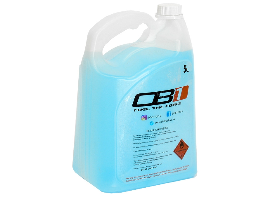 OB1 Race Fuel Additive (5litre)