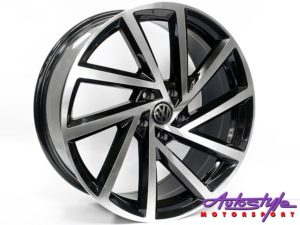 "19"" QS 5329 BLK 5/112 Alloy Wheels-0"