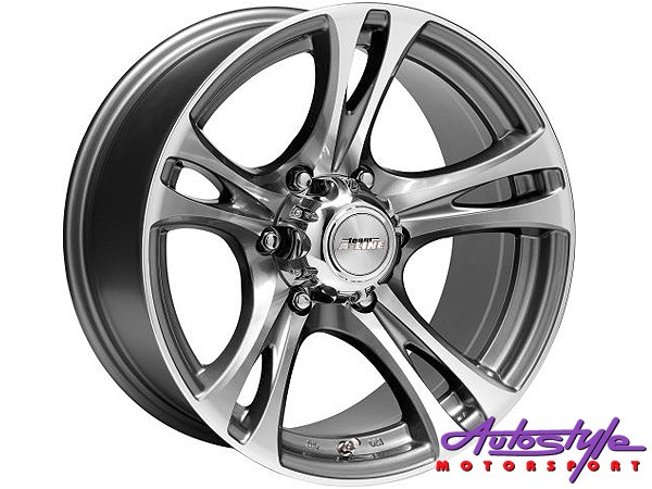 15″ A-Line Grip 6/139 GMMF Alloy Wheels