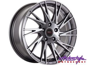 "17"" A-Line Zendo 4/100 & 4/108 GMMF Alloy Wheels-0"