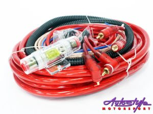 AudioFusion 4gauge Professional Car Audio Wiring Kit-0