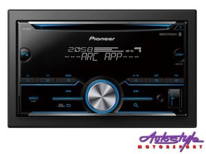 Pioneer FH-S505BT Double Din Audio Receiver with Bluetooth-0