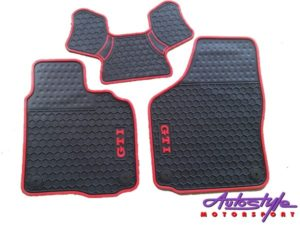 Rubber Floormats to fit VW Golf Mk6 Gti-0