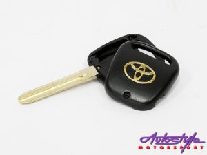 Blank Key for Toyota Type5 (1 side button)-0