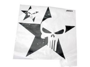 Jeep Sticker Set (punisher skull design)-0