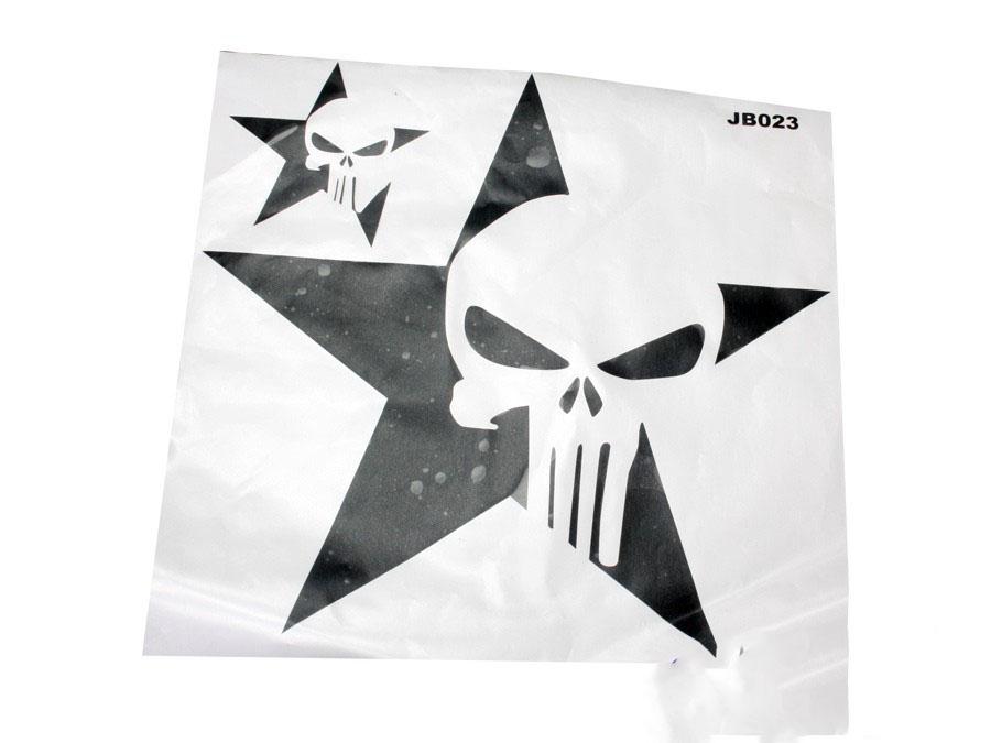 Jeep Sticker Set (punisher skull design)