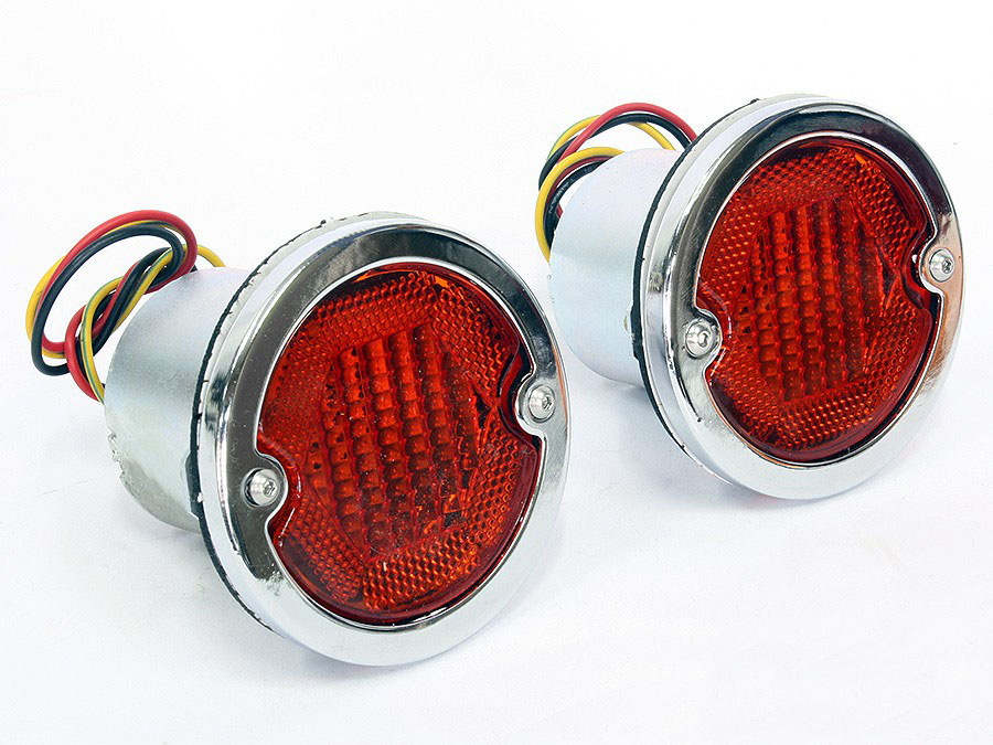 VW Classic Bus 56-61 Amber Rear Lamps