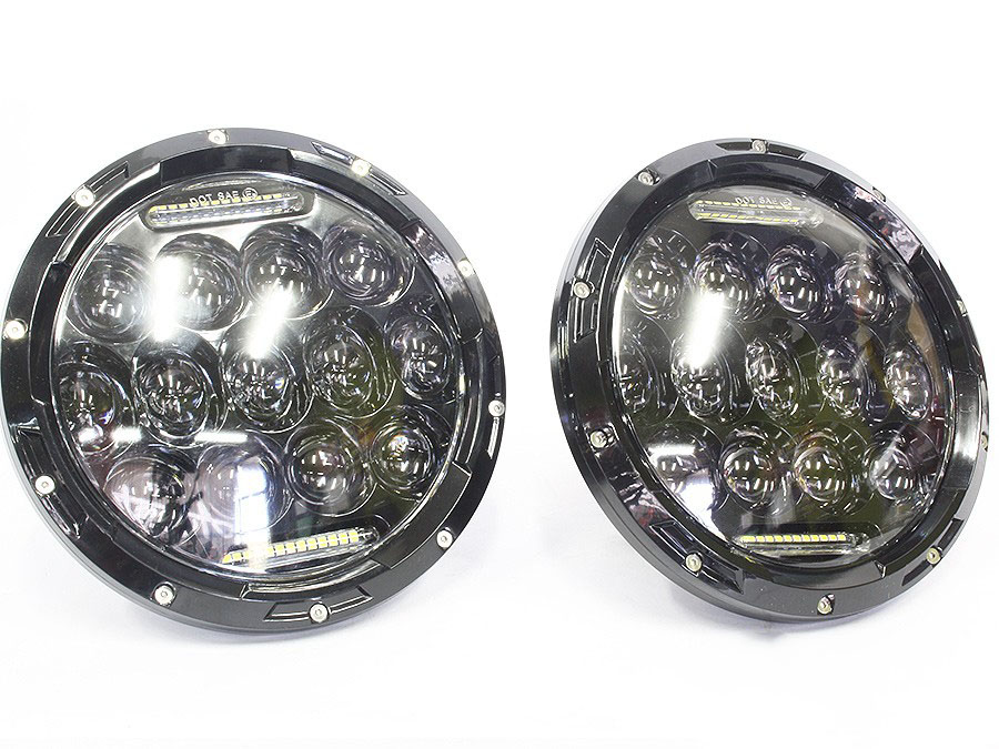 Jeep 7″ LED Spotlamps (pair)