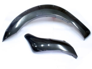 2012-2015 T6 Ford Ranger Wheel Arches (grey gloss finish)-0