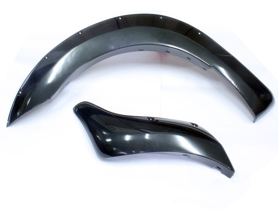 2012-2015 T6 Ford Ranger Wheel Arches (grey gloss finish)