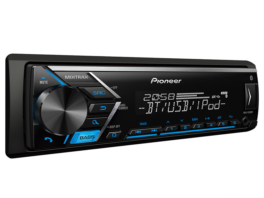 Pioneer Multimedia Tuner with Dual Bluetooth