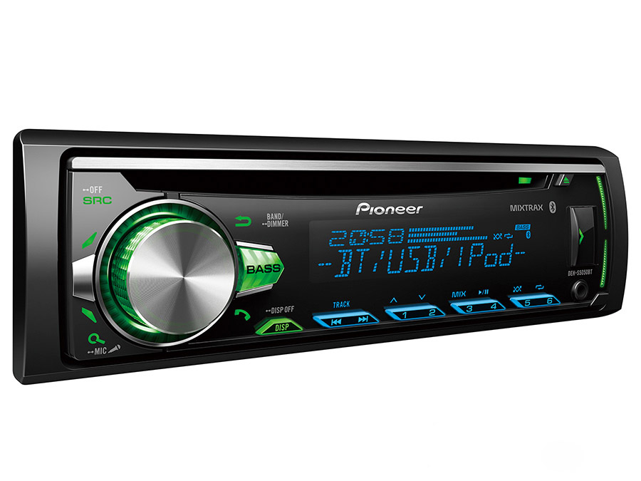 Pioneer DEH-S5050BT Car Stereo with Dual Bluetooth, Spotify Connect, Siri Eyes Free & USB.